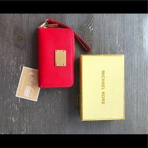 Michael Kors Wristlet/Phone Holder